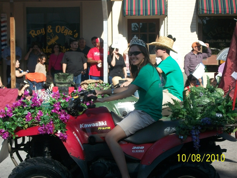 2010 Peanut Festival Court - Taken by Cindy Cranston