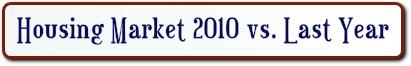 housing market 2010 v. last year
