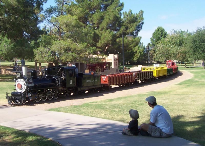 McCormick-Stillman Railroad Park in McCormick Ranch