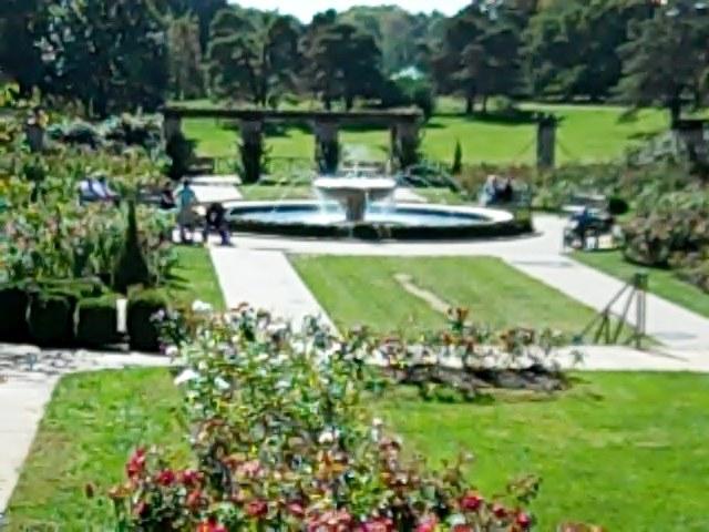 Loose Park Rose Garden In Kansas City Missouri