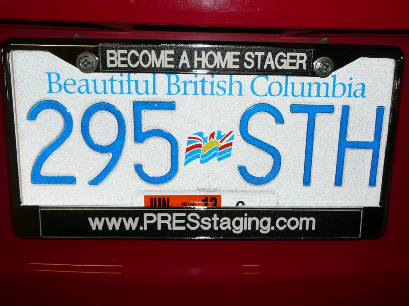 Are you using your License Plate frame for marketing?