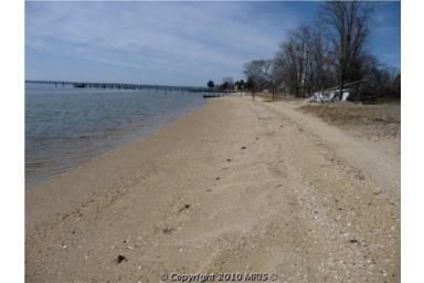 Southern Maryland Waterfront Beachfront Home For Sale On
