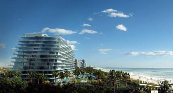 FENDI Chateau Residences condominium in Surfside, Miami Beach
