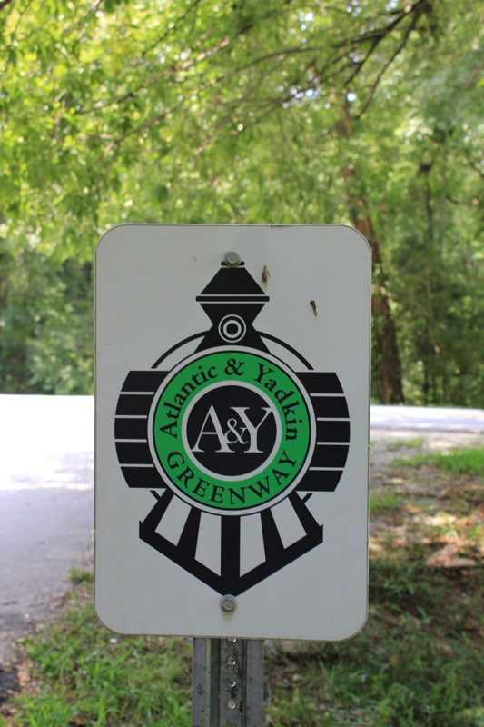 Atlantic & Yadkin Greenway in Greensboro NC