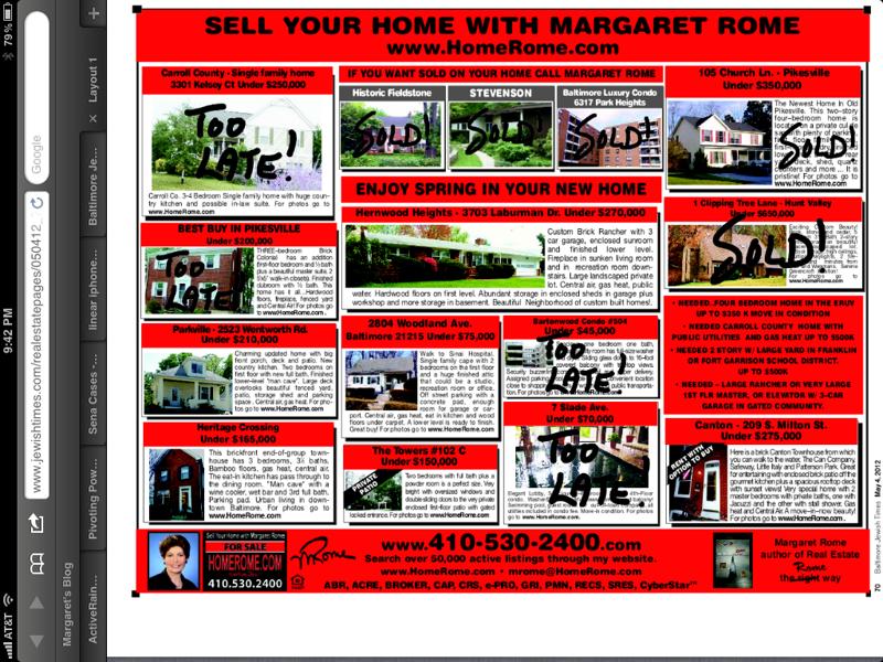 HomeRome Ad 5/2012