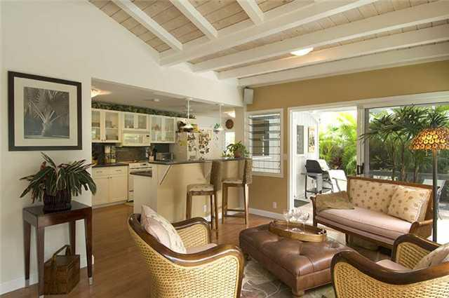 Living Area, Koolaupoku Home, Kailua, Oahu, Hawaii