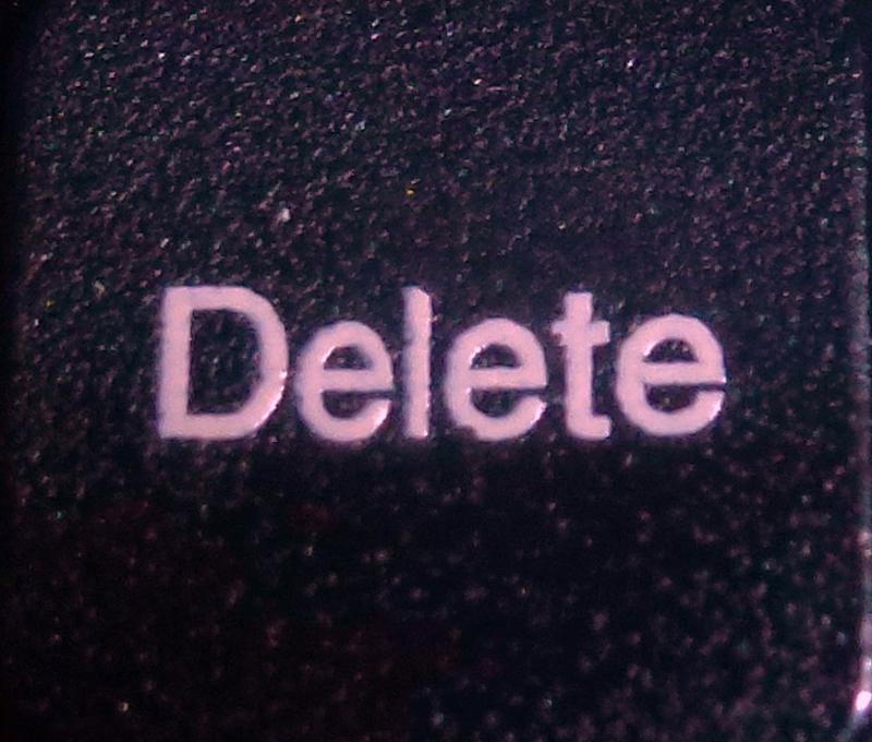 Delete Button HomeRome