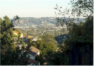 view from Los Feliz short sale