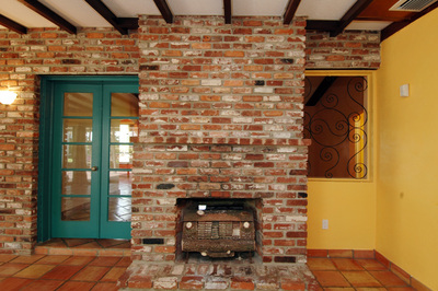 70 NE 94 St - fireplace brick