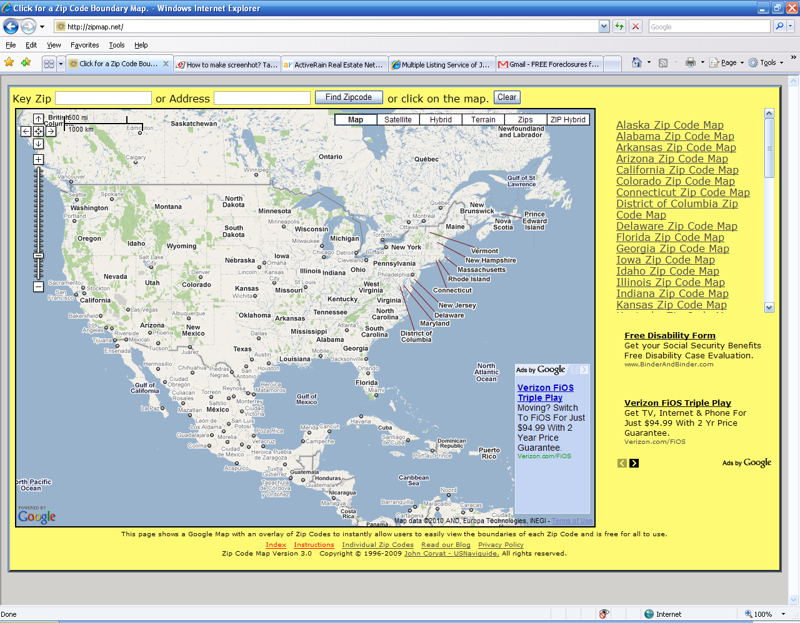 Easy to Use Zip Code Tool   Why Didn't I Think of That Before?