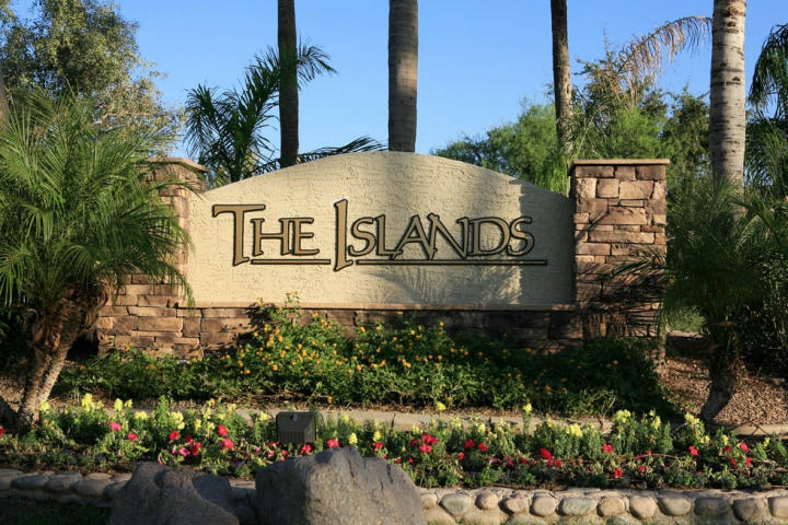 The Islands Sign