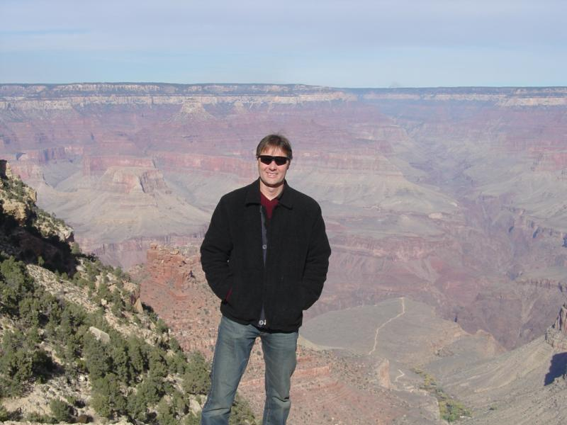 Cliff at Grand Canyon