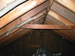 Preventing Sagging Roof Rafters