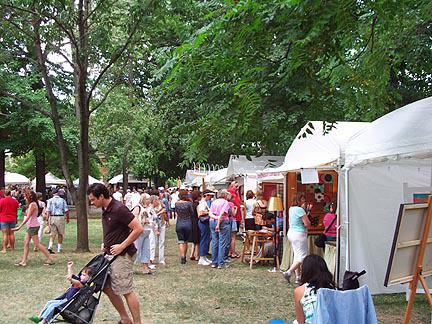 Woodland art Fair