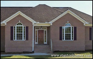 Windows with Flankers | Custom Home Window Styles