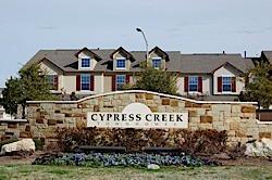 Cypress Creek Townhomes in Cedar Park TX