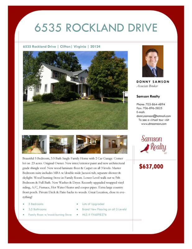 Little Rocky Run Homes for Sale
