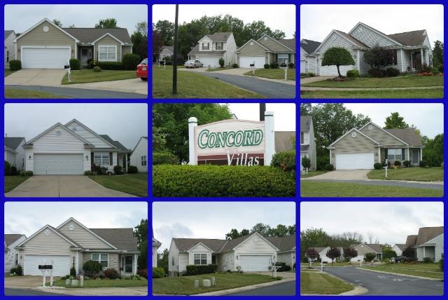Concord Villas patio home community of Mason Ohio 45040