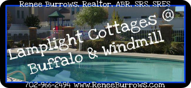 Lamplight Cottages at Buffalo & Windmill (Las Vegas Gated Community)