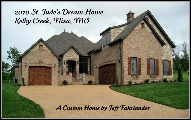 The 2010 St Jude s Dream Home A Custom Home Built by Jeff