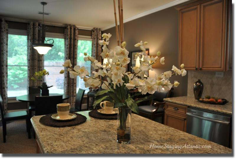 Home Staging Atlanta After Picture