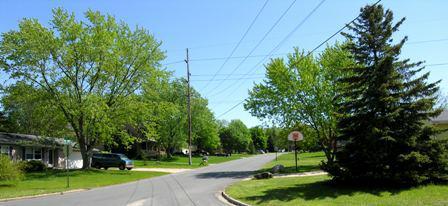 adatowne residential neighborhood ada mi
