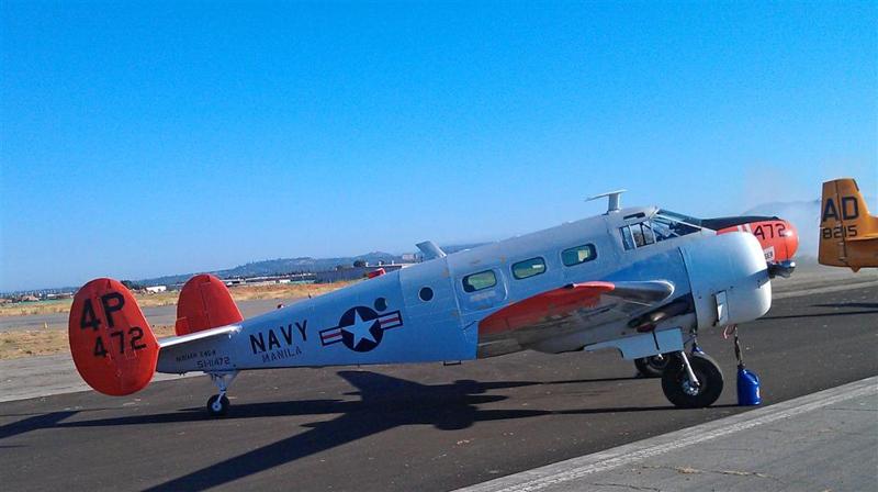 vintage U.S. Navy aircraft