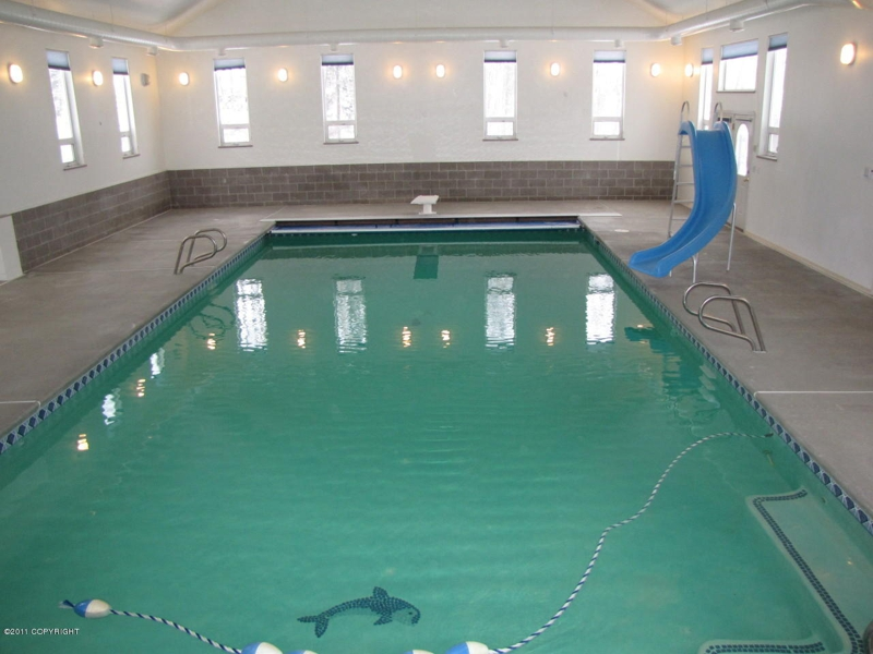 Indoor swimming pool in Wasilla Alaska, Really!