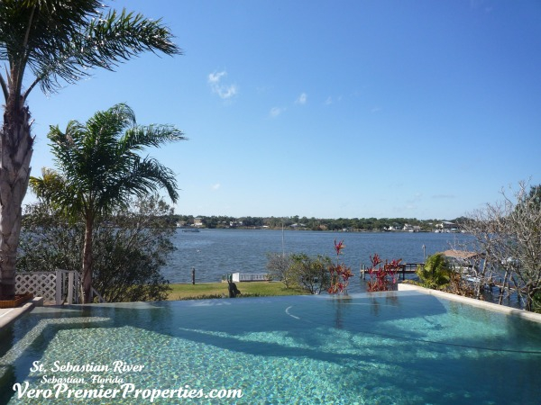 SEBASTIAN RIVERFRONT HOME FOR SALE, SEBASTIAN FLORIDA, 2 MILES FROM DOCK TO OCEAN