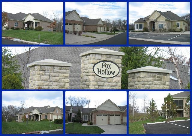 Fox Hollow condo community of Mason Ohio 45040