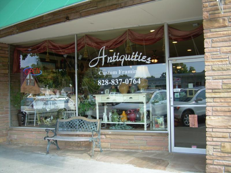 Antiquities of Murphy, NC - Custom Picture Framing and Mountain Home ...