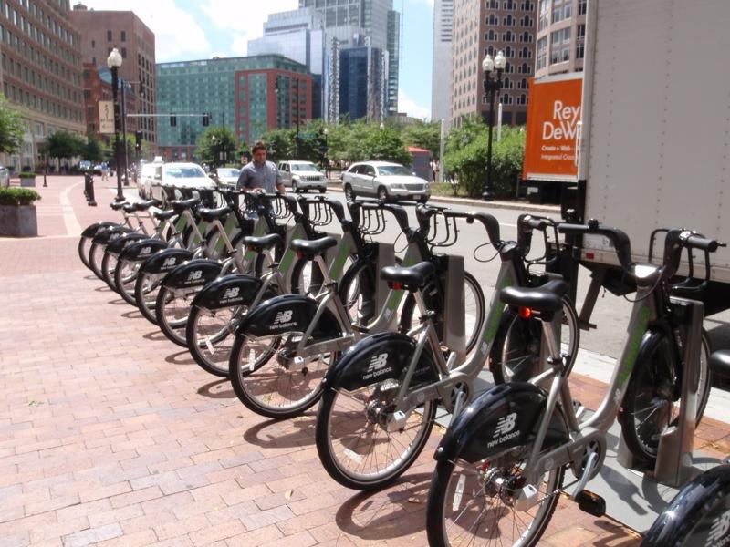 Bike Rental in Boston MA at the Waterfront