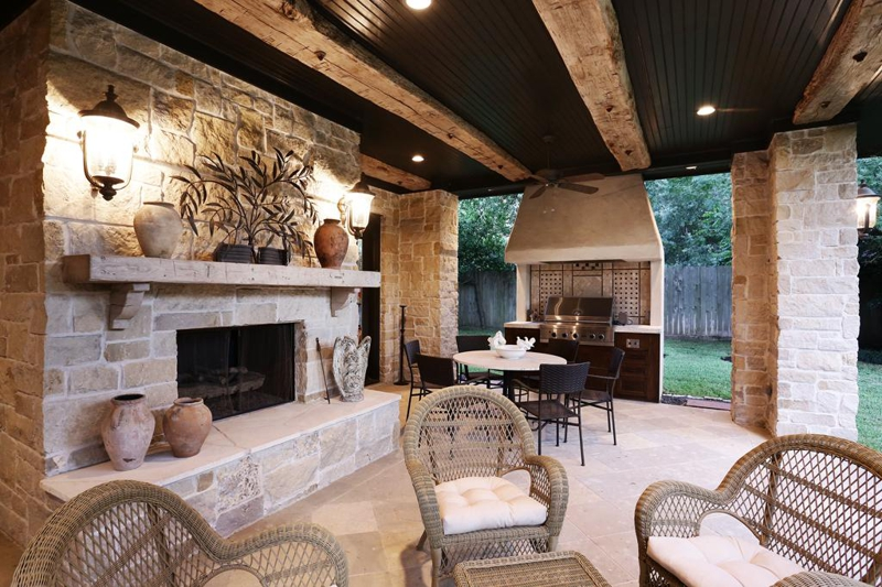 Summer Kitchen Plans houston: large family 5br home for sale; great entertaining flow