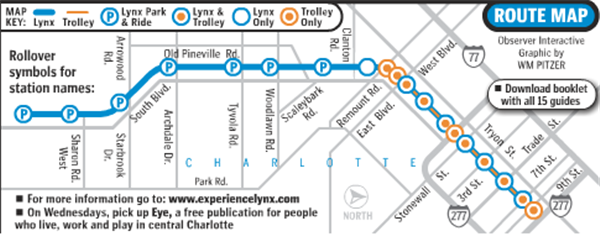 Charlotte NC s LYNX Light Rail System
