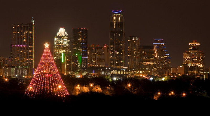 Zilker Christmas Tree Photo by Dan Herron, Herronstock.com