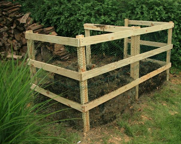Building A Compost Bin - Lancaster Home
