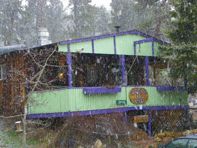 Meadow Mountain Cafe in Allenspark, Coloraod