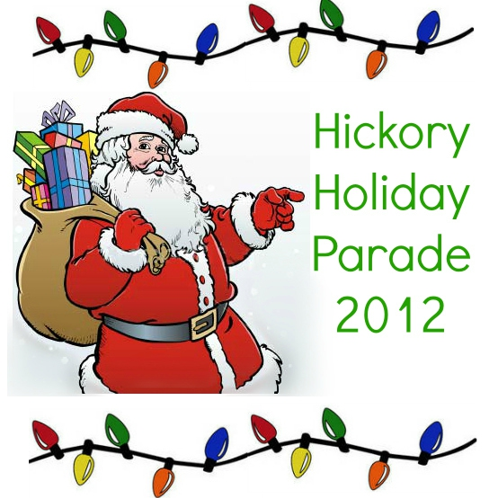 Hickory NC: Holiday Parade 2012
