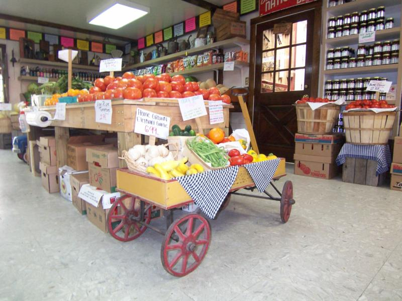 Nalls Produce Display