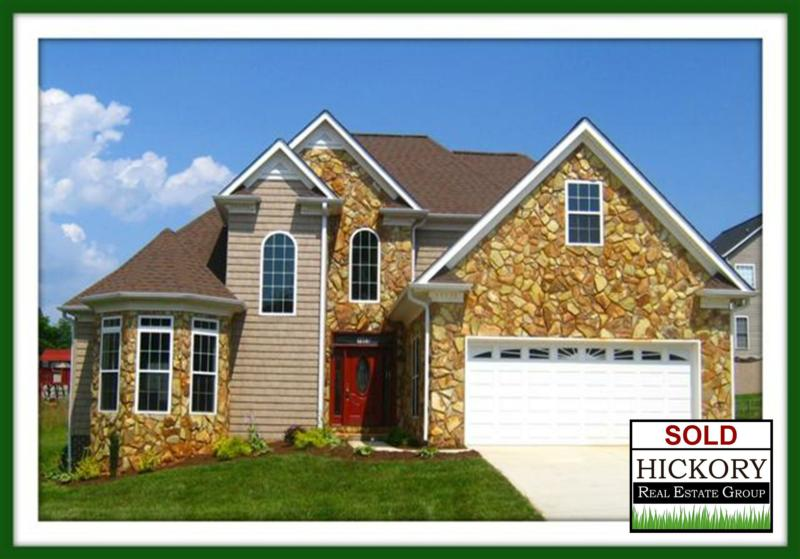 Sold hickory nc home in mountain view for Home builders in hickory nc