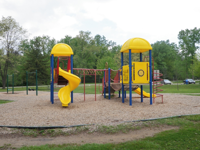 playground equipment rotary park livonia michigan