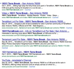 Property Search Google - 19311 Terra Brook