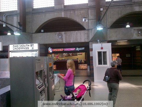 Dunkin Donuts at the Back Bay Train Station in Boston,MA Endre Barath