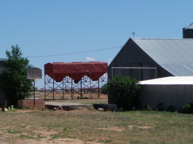 Livestock facilities on the cattle ranch