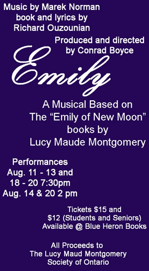 Emily - A Musical by Maud's Thespians