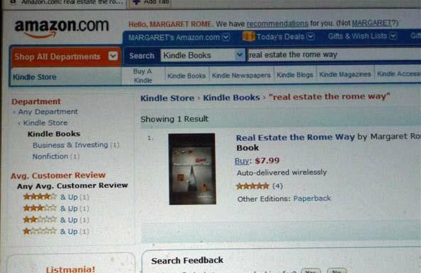Book on Kindle