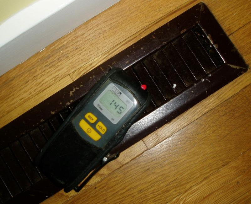 carbon monoxide meter goes off