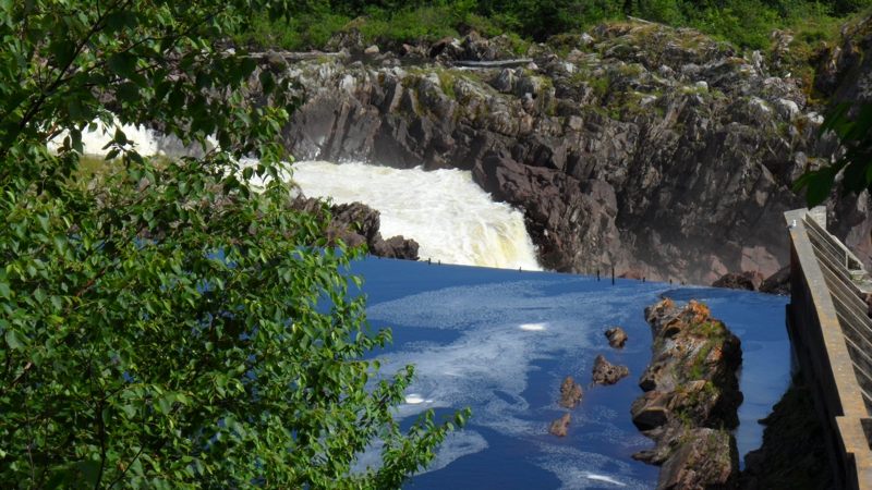 Falls in the Exploits River Grand Falls Newfoundland
