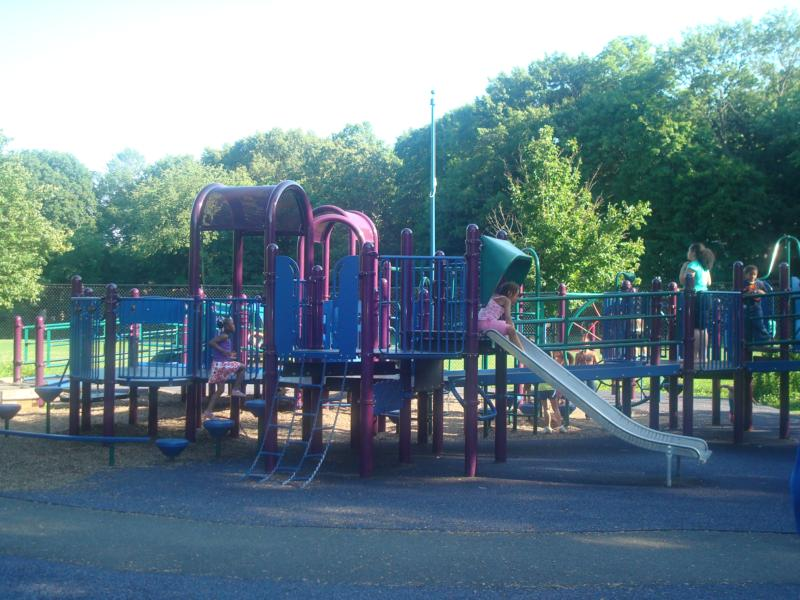 rubberized playground