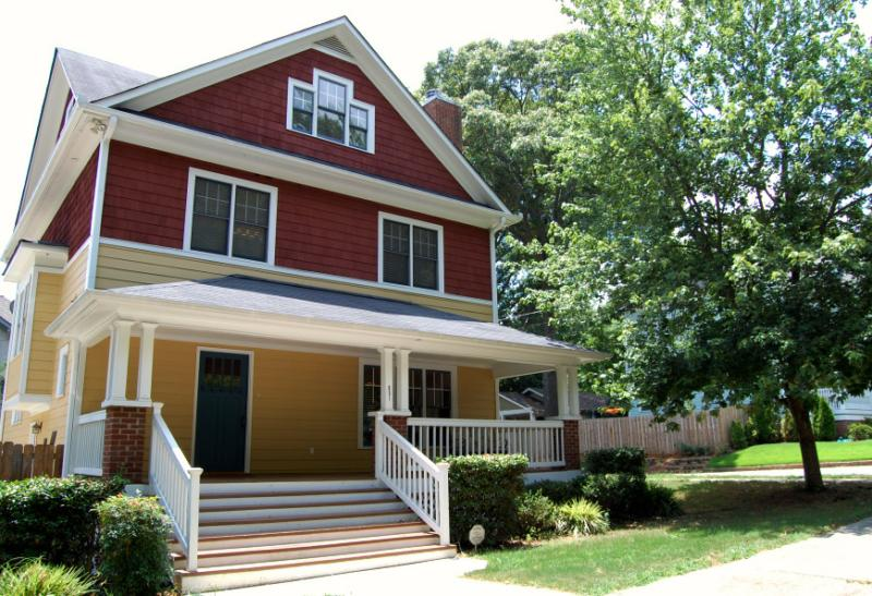 Grant park atlanta craftsman bungalow home for sale for Craftsman homes atlanta